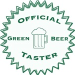 Official Green Beer Taster