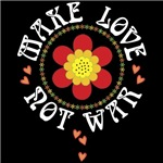 Retro Make Love Not War
