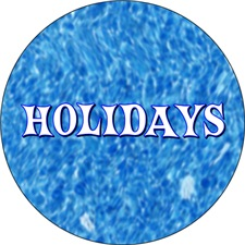 <b>HOLIDAYS AND OCCASIONS</b>
