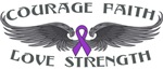 Lupus Courage Wings Shirts