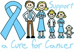 Prostate Cancer Support A Cure Shirts