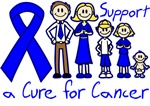 Colon Cancer Support A Cure Shirts