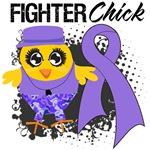 Hodgkins Lymphoma Fighter Chick Shirts