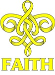 Faith Fleu De Lis Endometriosis Shirts