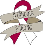 Throat Cancer Standing Strong Shirts