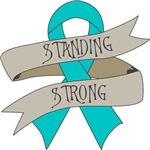 Ovarian Cancer Standing Strong Shirts