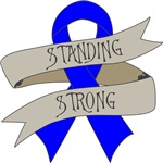 Colon Cancer Standing Strong Shirts