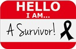 Melanoma Hello I'm A Survivor Shirts