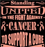 Uterine Cancer Standing United Shirts