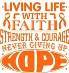 Skin Cancer Living Life With Faith Shirts