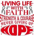 Asthma Living Life With Faith Shirts