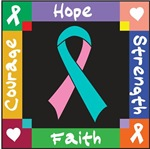 Hereditary Breast Cancer Courage Hope Shirts
