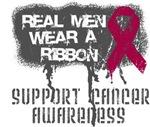 Multiple Myeloma Real Men Wear a Ribbon Shirts