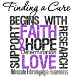 Fibromyalgia Finding A Cure Begins Shirts