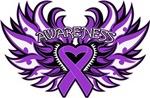 Fibromyalgia Awareness Wings Shirts