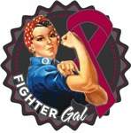 Multiple Myeloma Fighter Gal Shirts