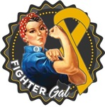 Appendix Cancer Fighter Gal Shirts