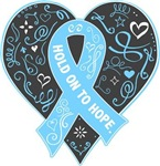 Graves Disease Hold on to Hope Shirts