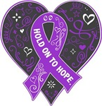 Domestic Violence Hold on to Hope Shirts