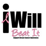 Breast Cancer: I Will Beat It T-Shirts