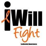 Leukemia: I Will Fight T-Shirts & Gifts