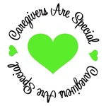 Caregivers Are Special Lymphoma T-Shirts