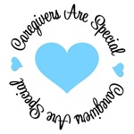 Caregivers Are Special Prostate Cancer T-Shirts