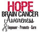 Hope Brain Cancer Awareness Shirts & Gifts