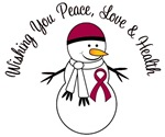 Christmas Snowman Myeloma Cards & Gifts