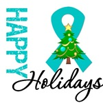 PCOS Awareness Christmas Holiday Cards & Gifts