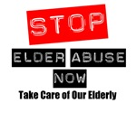 Stop Elder Abuse Now Awareness Shirts & Gifts