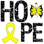 Bladder Cancer Hope Butterfly Shirts & Gifts