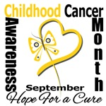Childhood Cancer Awareness Month Apparel