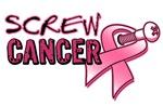Screw Breast Cancer Shirts