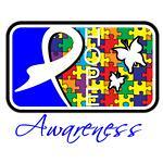 Autism Awareness Tile