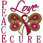 Throat Cancer Peace Love Cure