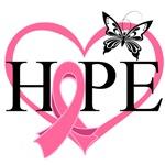 Breast Cancer Heart Decor