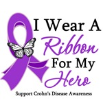 Crohn's Disease Hero Ribbon