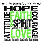 Muscular Dystrophy Can't Take My Hope Shirts & Gif