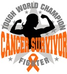 Leukemia Cancer Tough Survivor Shirts