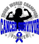 Colon Cancer Tough Survivor Shirts