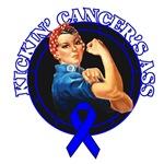 Kickin' Rectal Cancer's Ass Shirts