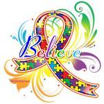 Autism Awareness Believe Shirts & Gifts