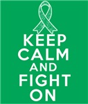 Liver Cancer Keep Calm Fight On Shirts