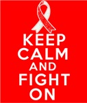 Oral Cancer Keep Calm Fight On Shirts