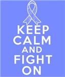Intestinal Cancer Keep Calm Fight On Shirts