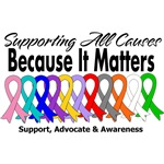 Supporting A Cure Because It Matters Shirts