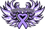 General Cancer Heart Wings Shirts