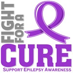 Epilepsy Fight For A Cure Shirts