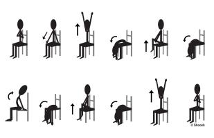 Seated Sun Exercises